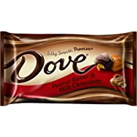 Dove Peanut Butter Milk Chocolate Miniatures Bag, 8.50-Ounce (Pack of 4)