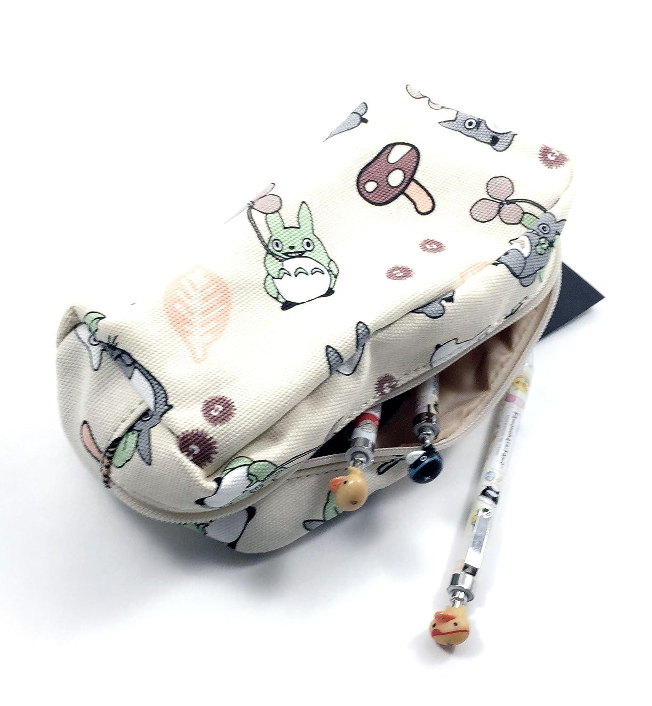Amazon.com: Mi vecino Totoro lápiz bolsa bolígrafo Caso ...