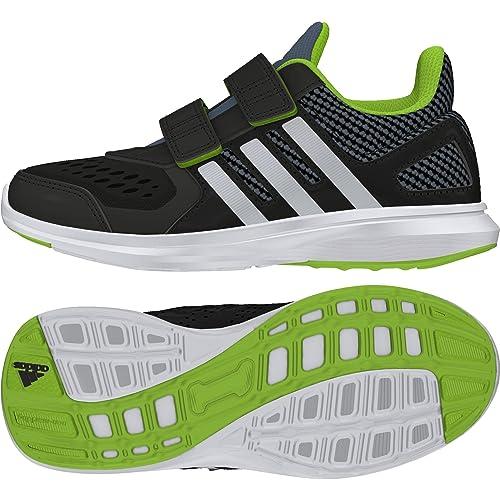 new style d52fe e23d6 adidas Hyperfast 2.0 CF K Sneaker a Collo Basso Bambino, Nero 30 EU   Amazon.it  Scarpe e borse