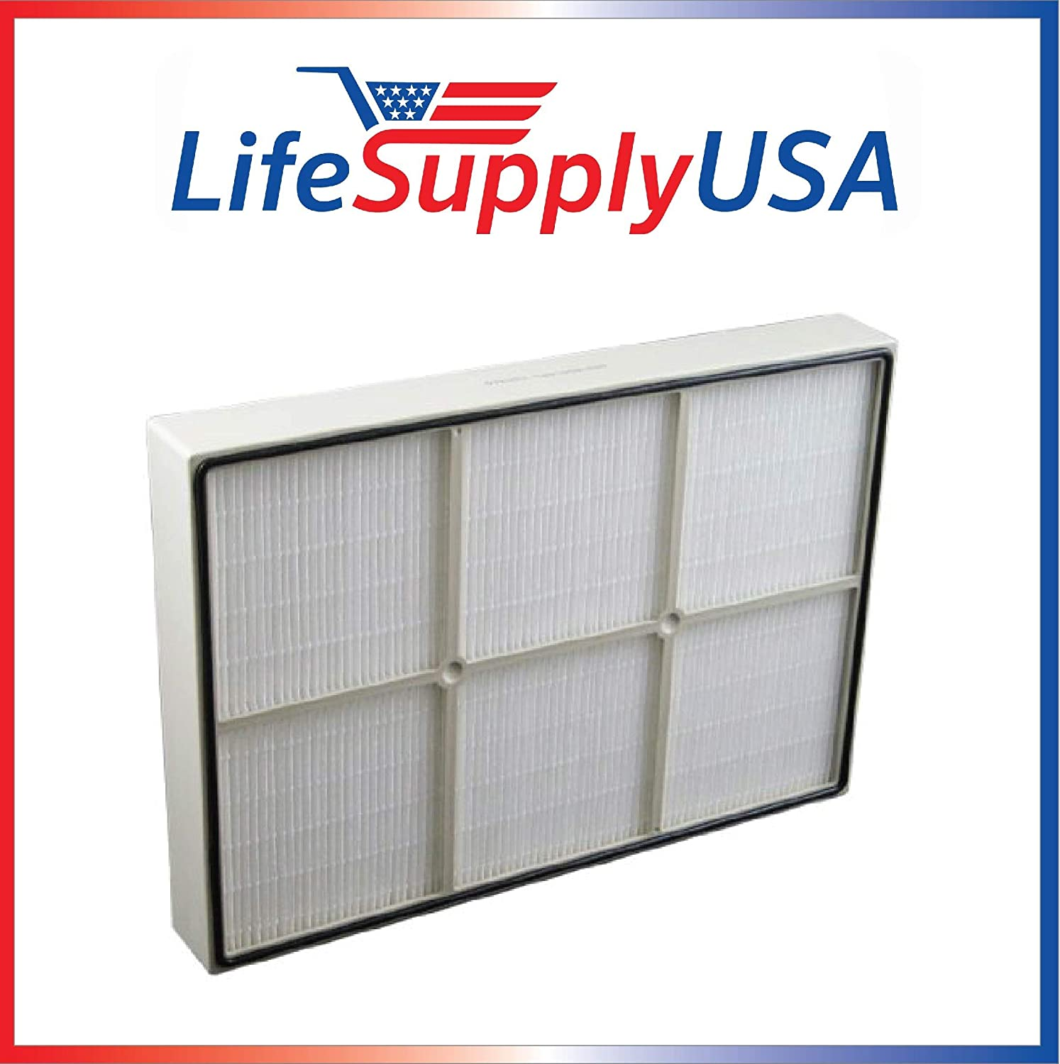 LifeSupplyUSA True HEPA Replacement Filter Compatible with Kenmore 83353, 83374, 83234, Small 1183051 Sears Kenmore Air Cleaner