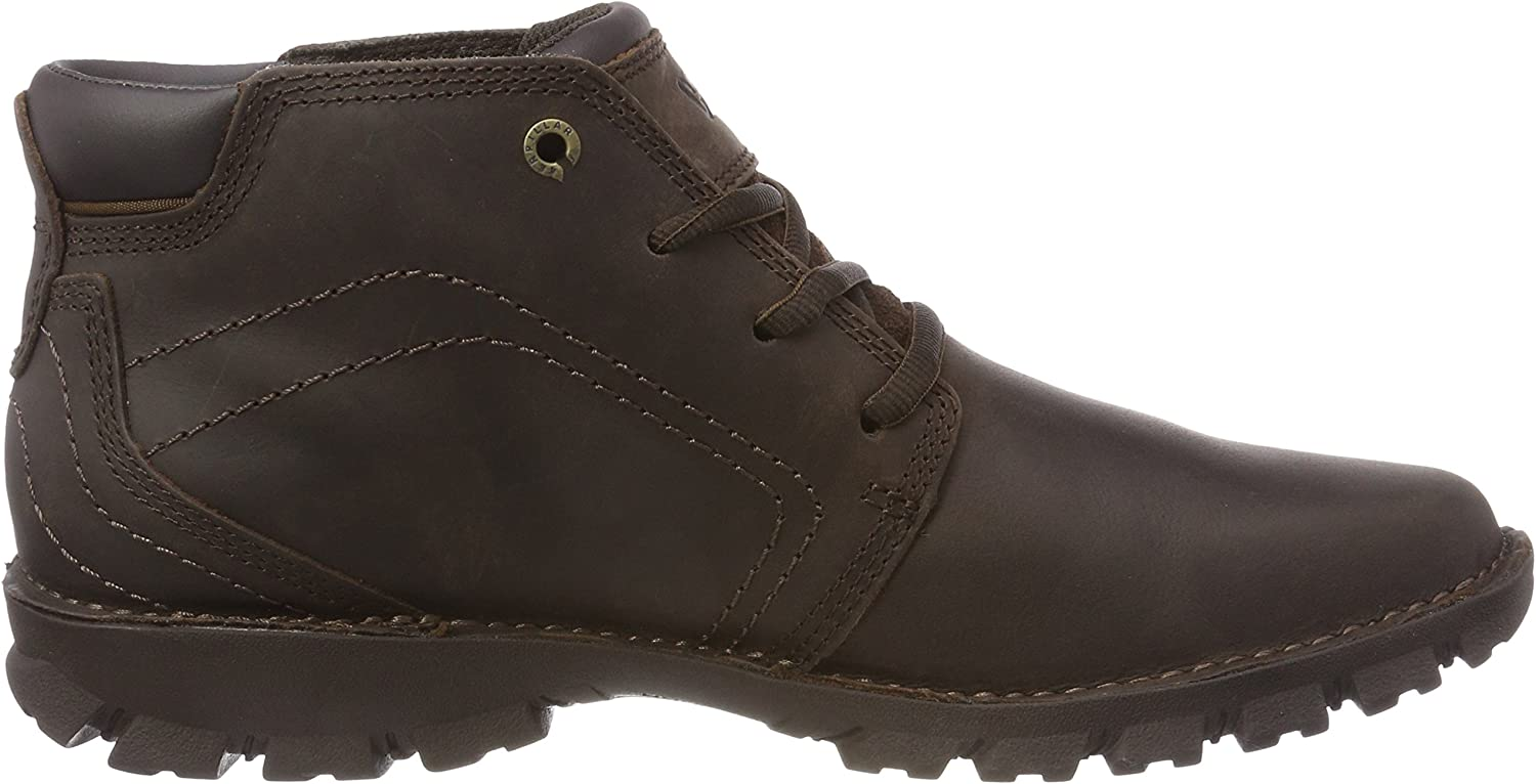 Cat Footwear Transform, Bottes Chukka Homme Marron Dark Brown