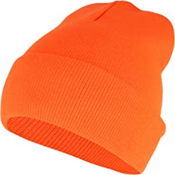 211c76e0ca4 Armycrew High Visibility Neon Color Cuff Long Winter Beanie Hat
