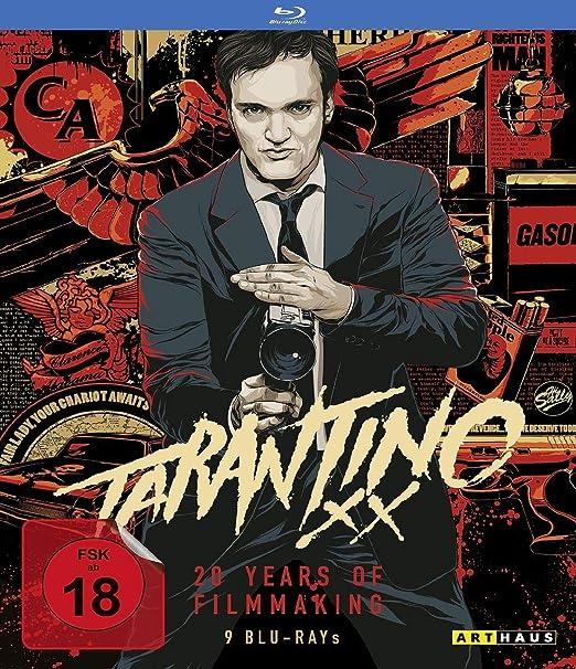 Quentin Tarantino - Box - 9 Blu Rays