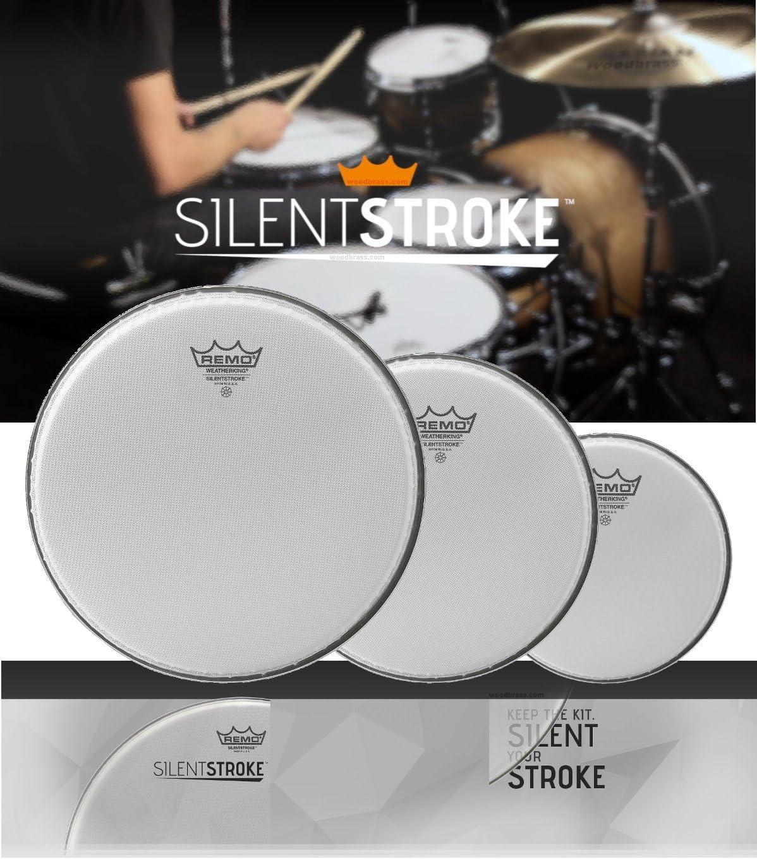 """Remo 10/"""" Silentstroke Drum Head"""