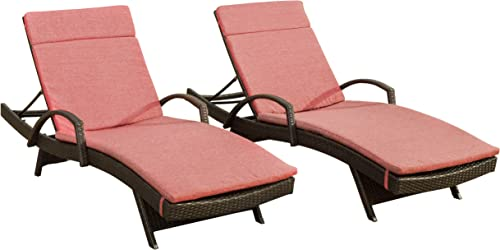 Christopher Knight Home Salem Outdoor Wicker Chaise Lounge Chair