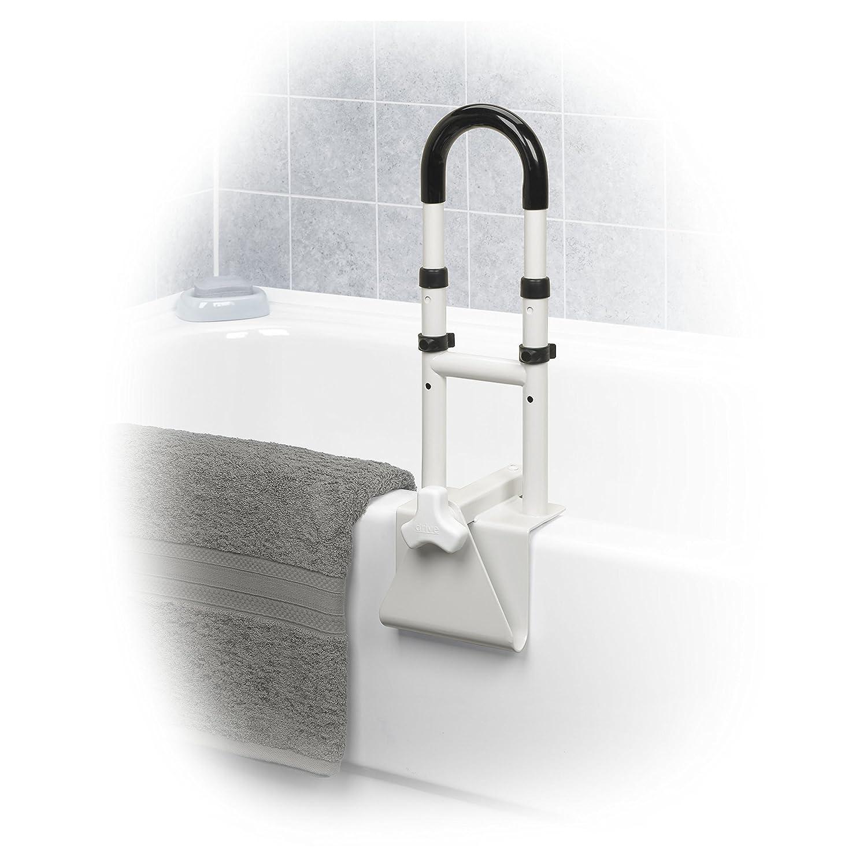 Amazon.com: Drive Medical Adjustable Height Bathtub Grab Bar Safety ...