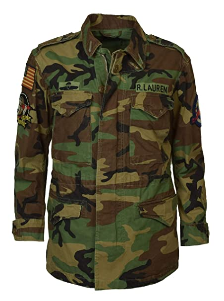 Amazon.com: Polo Ralph Lauren Womens Camo Military Style ...