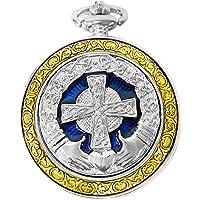 Reloj de Bolsillo Celtic con Motivo de Cruz