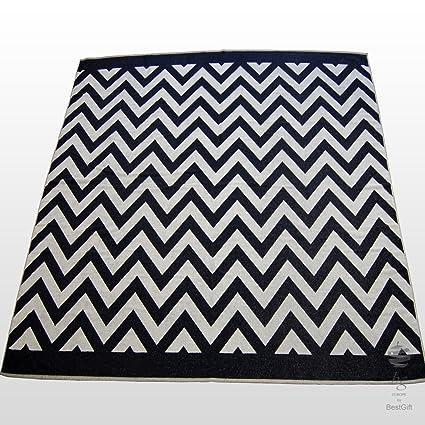 Extra Grande Rayas toalla de playa toalla de baño toallas de vacaciones, color blanco y