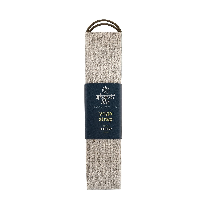 Shanti Life Luxury Eco Pure Hemp Yoga Strap: Amazon.es ...