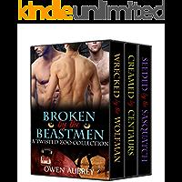 Broken By The Beastmen: 3 Volume Bundle (Gay Monster Erotica Anthology)