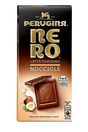 Negro Perugina Leche sintéticas Avellanas tableta de chocolate de leche con avellanas 100 g