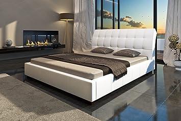 cama de diseo camas de cuero cama doble blanco xcm cama de matrimonio con somier