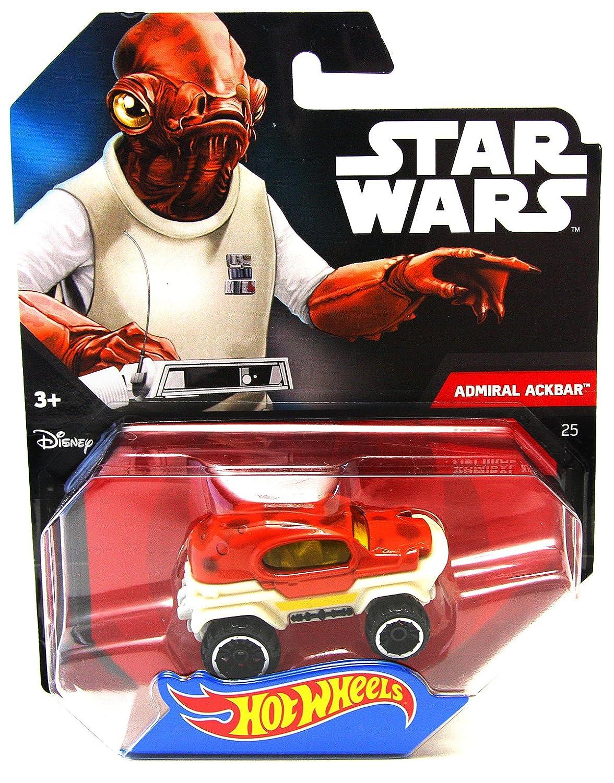 Hot Wheels Star Wars Character Car, Admiral Ackbar