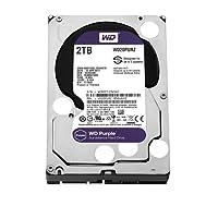 WD Purple 2 TB Festplatte zur Videoüberwachung    - Intellipower SATA 6 Gb/s 64MB Cache 3,5 Zoll - WD20PURZ