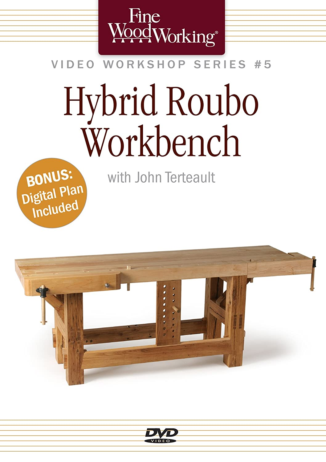 Hybrid Roubo Workbench Fine Woodworking Video Workshops