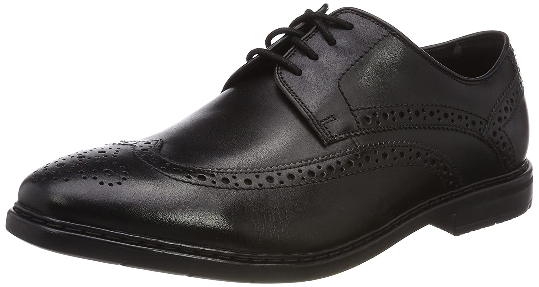 TALLA 41 EU. Clarks Banbury Limit, Zapatos de Cordones Brogue para Hombre