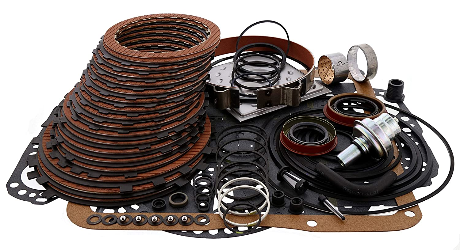 Amazon.com: TH350 Turbo 350 Transmission Raybestos Stage 1 Master Level 2 Rebuild Kit: Automotive
