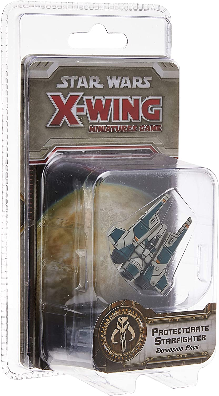 Fantasy Flight Games Expansión para el Juego de miniaturas X-Wing de Star Wars: Caza Estelar del protectorado: Amazon.es: Juguetes y juegos