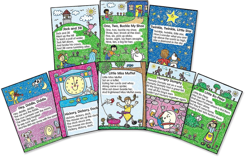 Amazon.com  Carson Dellosa Four Blocks Nursery Rhymes Kid-Drawn Bulletin Board Set (3283)  Themed Classroom Displays And Decoration  Office Products  sc 1 st  Amazon.com & Amazon.com : Carson Dellosa Four Blocks Nursery Rhymes: Kid-Drawn ...