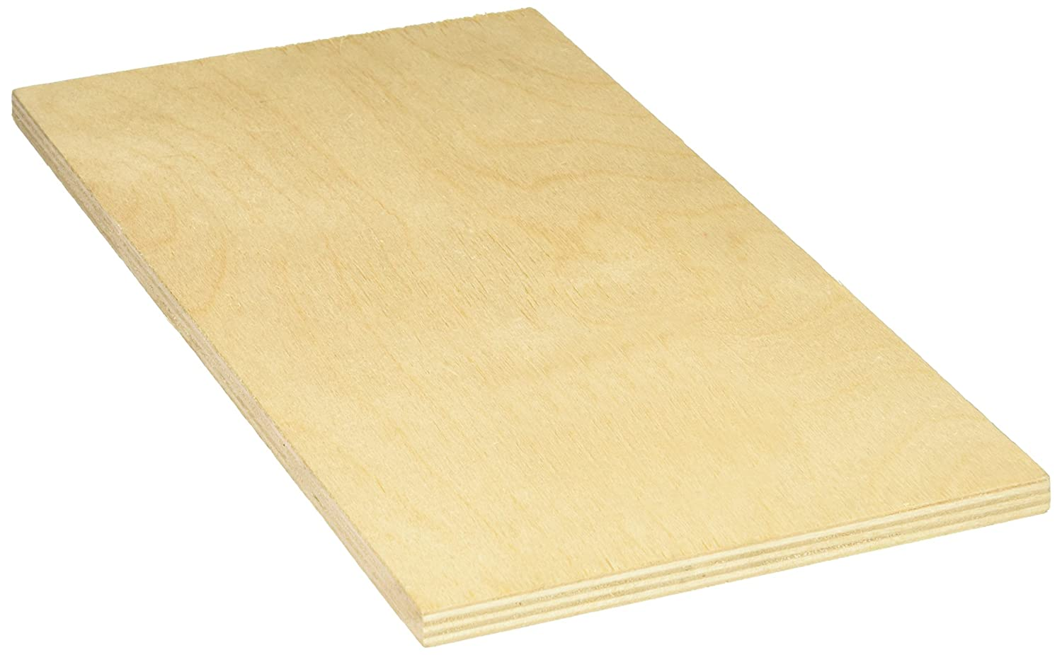 Midwest Products 5324 Birch Plywood, 3/8 x 6 x 12-Inch