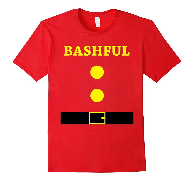 Bashful Halloween Costume Bashful Team Christmas T-Shirt-FL