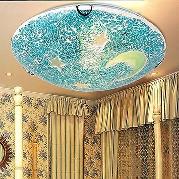 NAUY- Bohemia hecho a mano roto de cristal de la lámpara del ...