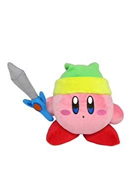 Kirbys Dream Land All Star Collection Sword Kirby Juguete De Peluche