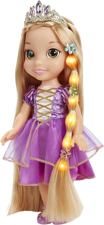 Amazon Com Disney Tangled Glow Style Rapunzel Toddler Doll Toys Games