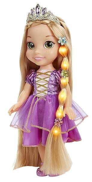 Amazon Disney Tangled Glow Style Rapunzel Toddler Doll Toys Games