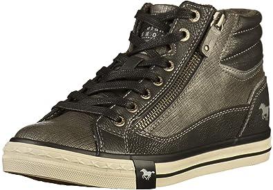 Mustang 1146-516 Zapatillas de lona mujer: Amazon.es: Zapatos y complementos