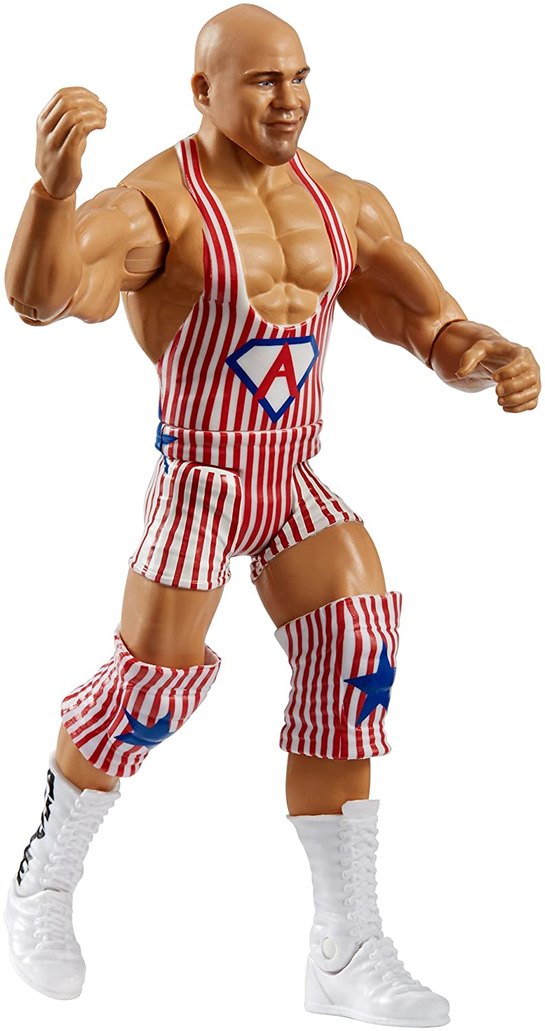 WWE Summerslam Kurt Angle Core Figure