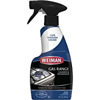 Deals on Weiman Gas Range Cleaner and Degreaser 12oz