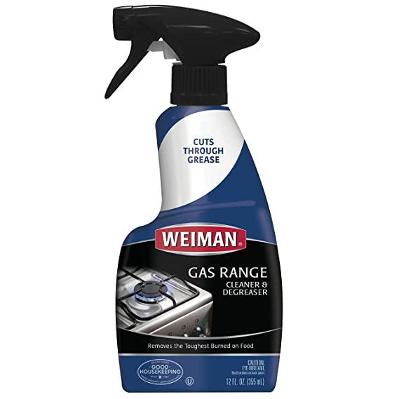 1. Weiman Gas Range Cleaner & Degreaser
