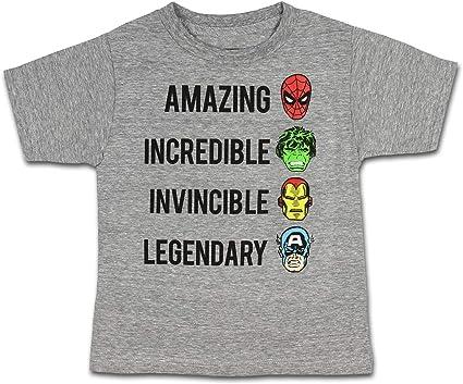 Captin America T-shirt for Boys Short Sleeve Kid Hero Baby t shirt Hulk Ironman