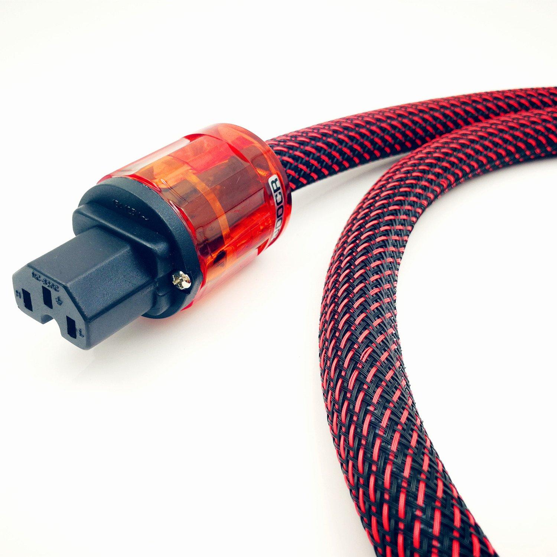 WAudio Hi-End Hifi Audio AC Power Cable Power Cord US Plug - 3.3FT (1M) by WAudio (Image #3)