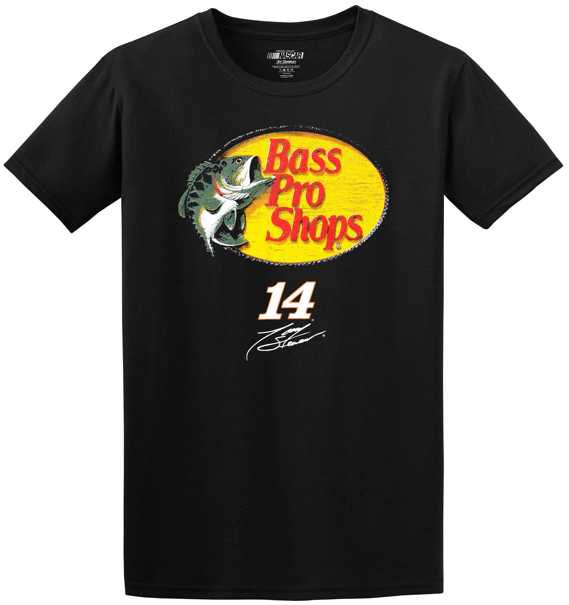 Tony Stewart Bass Pro Shop T Shirt Short Sleeve Graphic T Shirt 7647