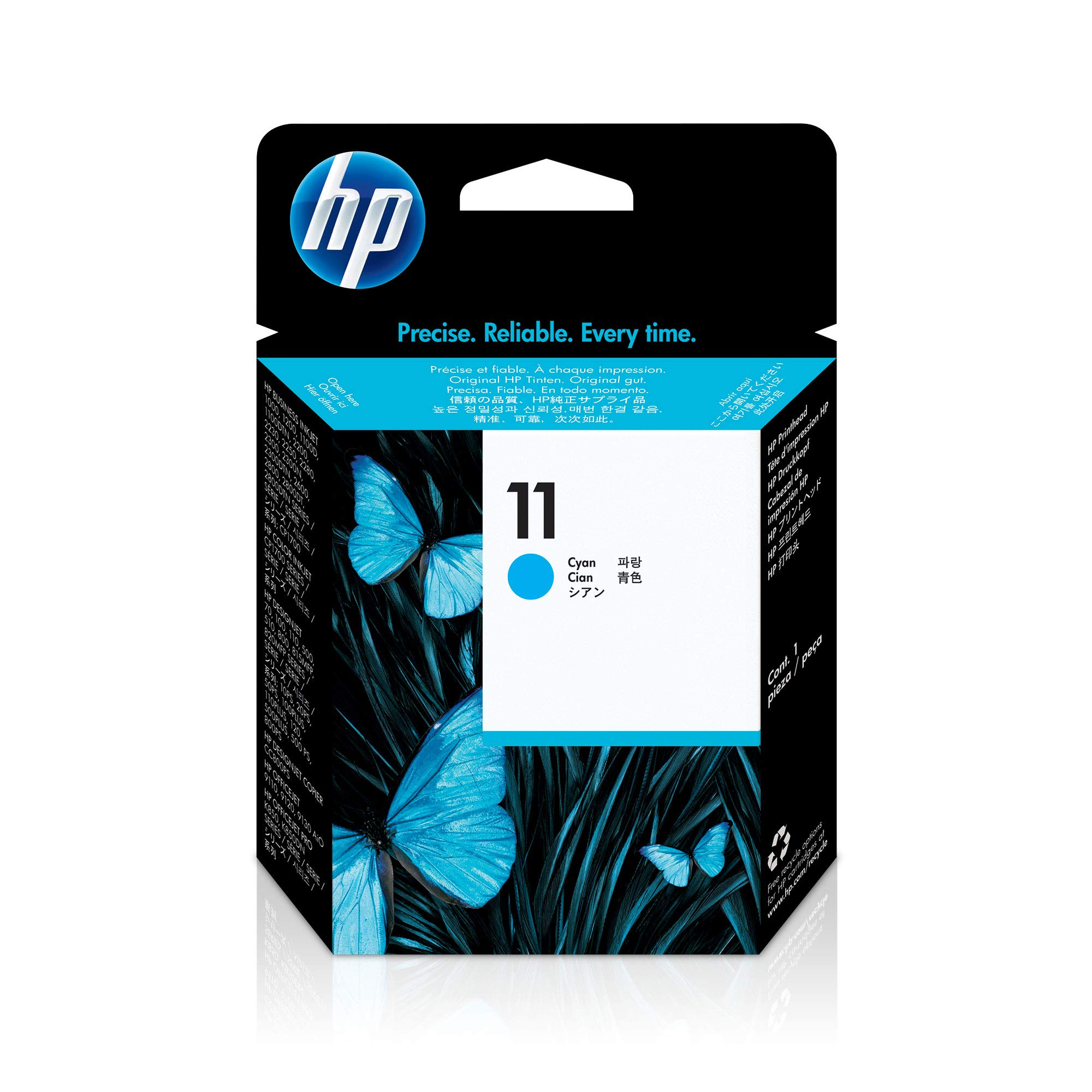 HP 11 | Ink Printhead | Cyan | C4811A