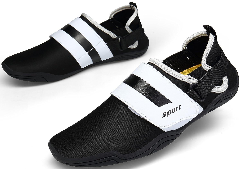 DENGBOSN Chaussures de Sports Chaussures Aquatiques Piscine et Plage Natation Plong/ée Surf Chaussures deau Homme Femme