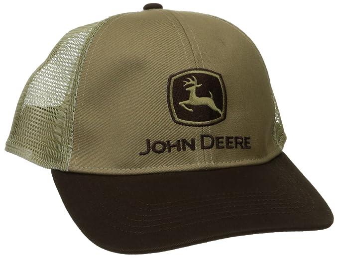 00fb285c369 John Deere Men s Strech Band Cap with Mesh Back