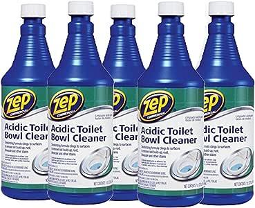 Amazon.com: ZEP Acidic Toilet Bowl Cleaner, 32 Oz - 5 Pack ...