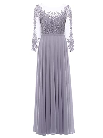 6781f194af18b Tanpell Women's Appliques Lace-up Floor Length Evening Prom Gown