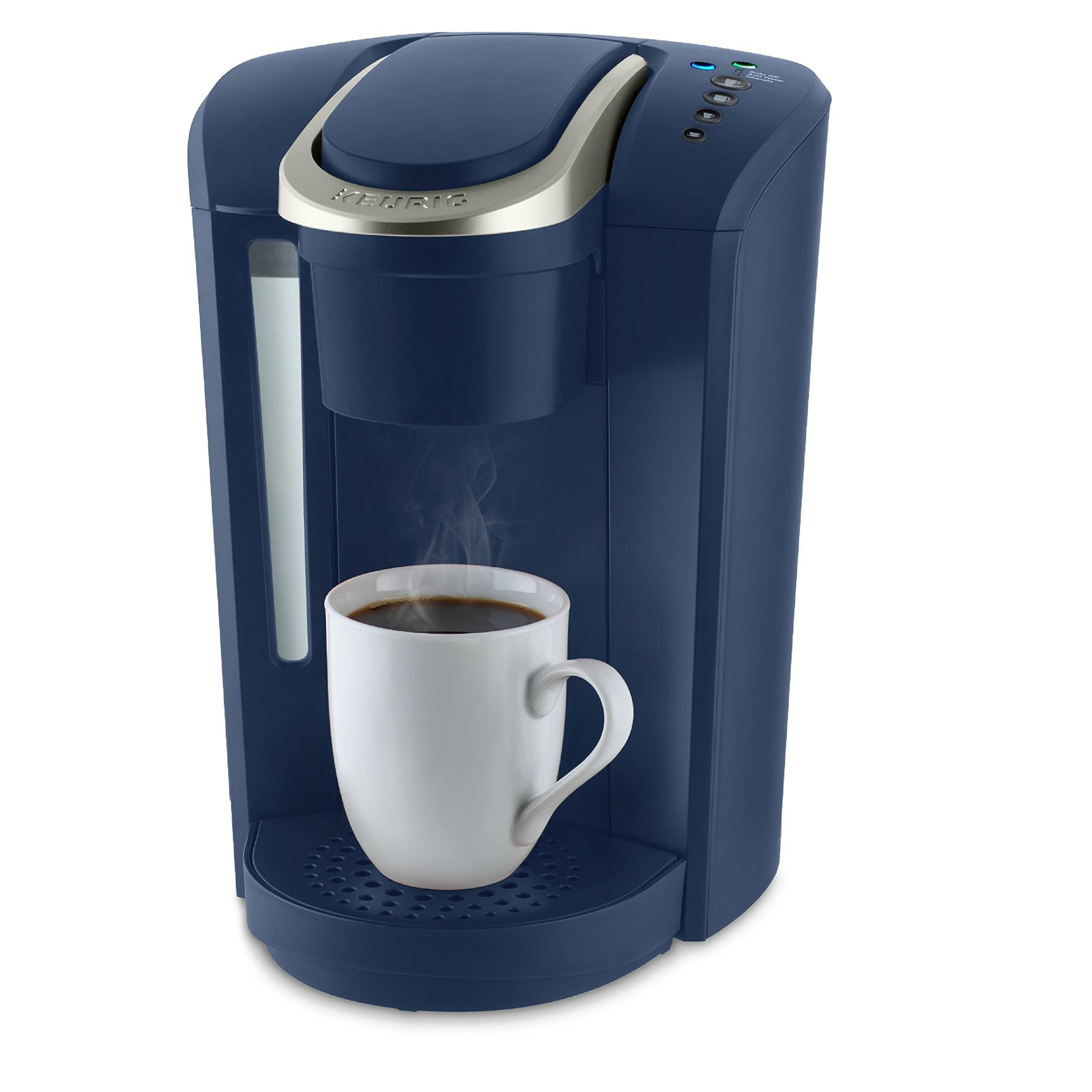 Keurig K-Select Single-Serve K-Cup Pod Coffee Maker, Matte Navy Blue by Keurig (Image #2)