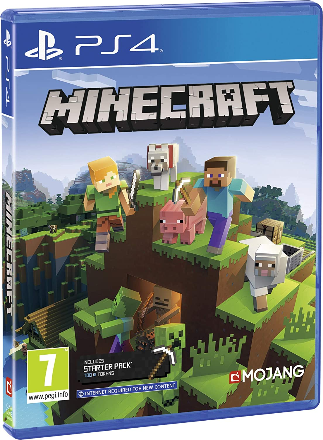 Amazon Com Minecraft Bedrock Ps4 Video Games