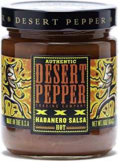 product image for Desert Pepper Trading Company XXX Roasted Habanero Salsa, 16-Ounce (6 Pack)