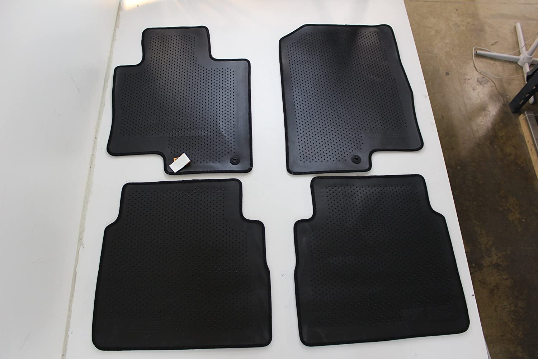 Genuine Hyundai Accessories 3QF14-AC200RY Black Front and Rear Carpet Floor Mat for Hyundai Sonata//Hyundai Sonata Hybrid