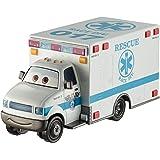 Disney Pixar Cars 3 Deluxe Die-Cast Super Chase Morgan Martins Ambulance Vehicle
