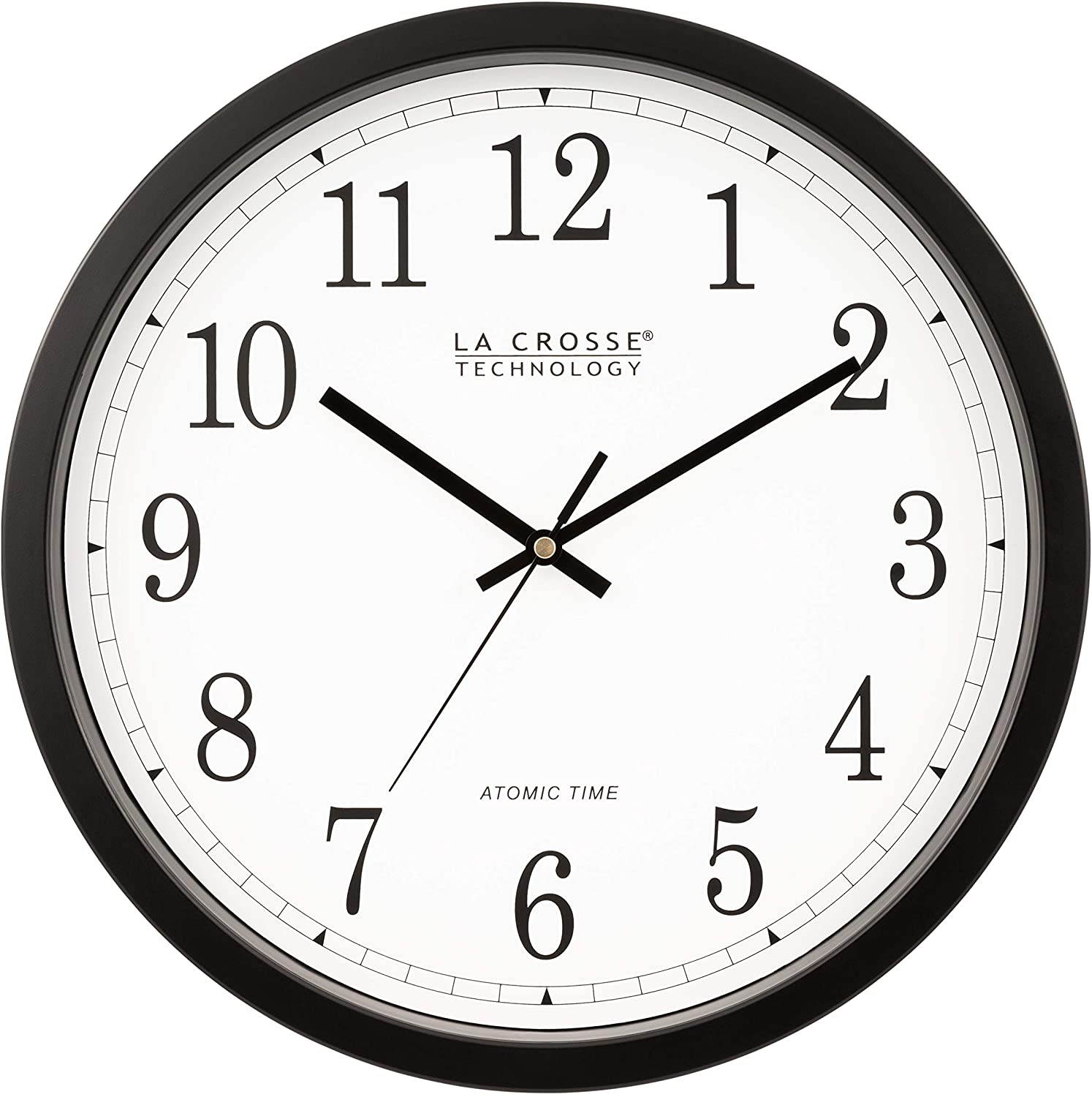 A picture of this clock to better elaborate Best Atomic Analog Wall Clocks
