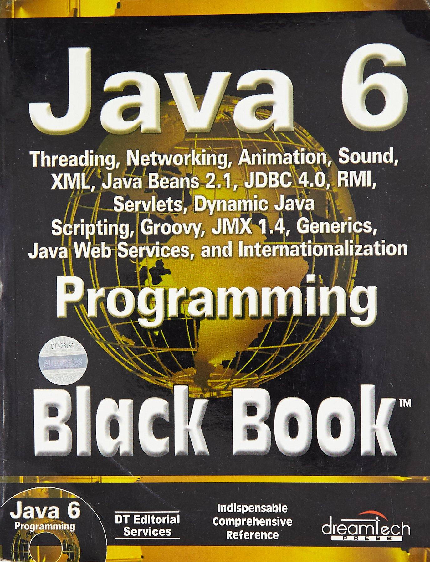 Java 6 Programming Black Book, 2007ed