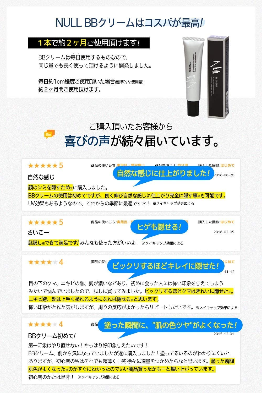 Thumbnail of NULL BBクリーム メンズ コンシーラー ファンデーション 20g SPF305$